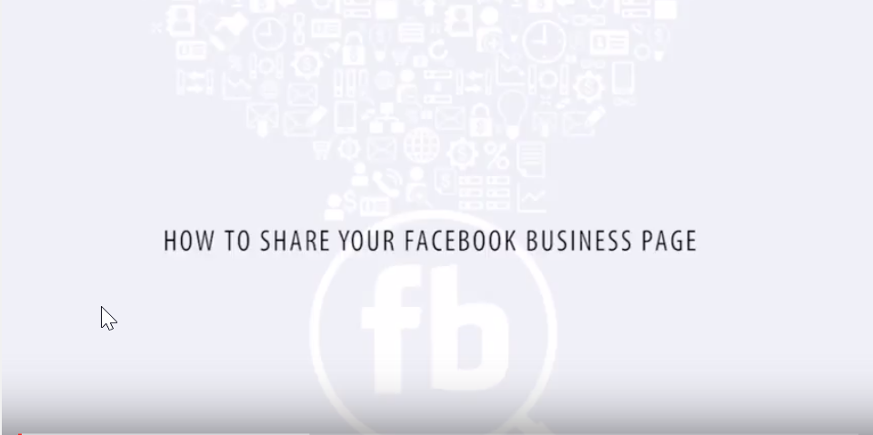 How to Share Your Facebook Business Page