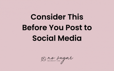 Consider This Before You Post to Social Media