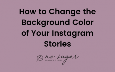 How to Change the Background Color of Your Instagram Stories